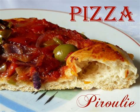 pate a pizza avec levure de boulanger p 226 te 224 pizza maison et sauce tomate au poivron p 226 tisseries et gourmandises