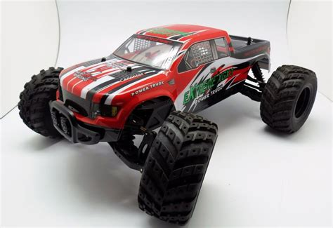 New Extreme Rc Xgx-3 Remote Control Rc Power Truck 21 Mph