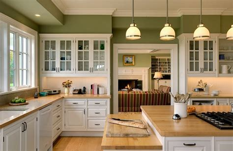 silestone absolute green kitchen traditional with lighting