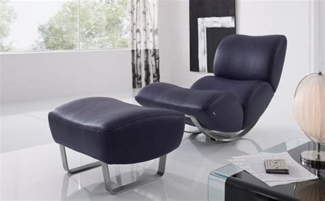 modern and comfortable rocking chair upholstered in
