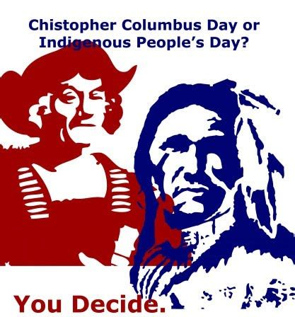 a clean education indigenous people 39 s day columbus day