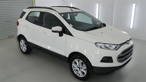 ford ecosport trend diamond white auto suv wagon ndvz