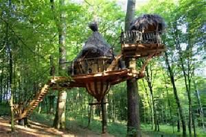 Cabane Dans Les Arbres Construction : cabanes de france ~ Mglfilm.com Idées de Décoration