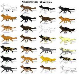 Warrior Cats ShadowClan Names