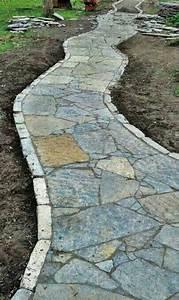 Flagstone Walkway | Landscaping | Pinterest