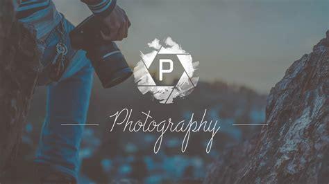 photoshop tutorial photography logo design sopheap