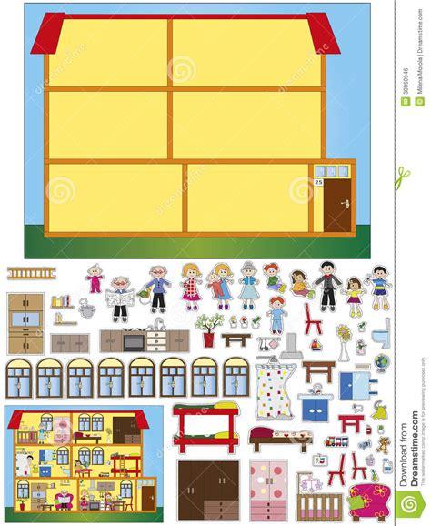 jeu de cuisine pour gar輟n jeu pour des enfants image libre de droits image 30860946