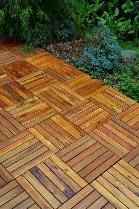 Holzoptik Fliesen Terrasse by Deck Tiles You Can Do It Yourself Maison