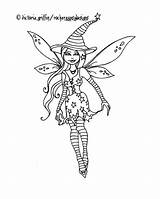 Coloring Witch Fairy Halloween Printable Drawing Wicca Wiccan Getdrawings sketch template