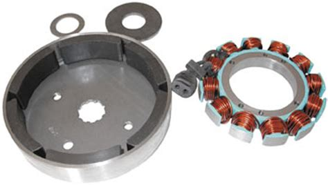 Standard Motorcycle Products 38 Amp Stator/rotor Kit