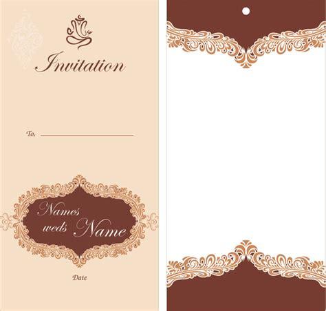 coreldraw wedding card  vector