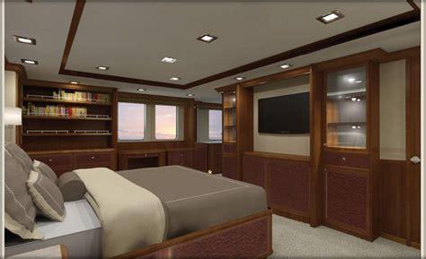 Nordhavn 120-master Stateroom-aft View-custom Yacht