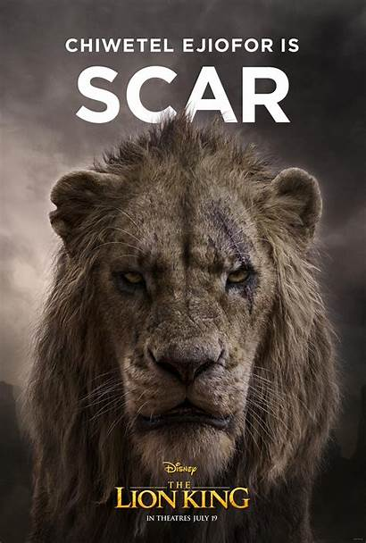 Lion King Character Scar Action Poster Posters