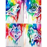 Rainbow Wolf Santa Giveaway Batch by Lucky978 on DeviantArt