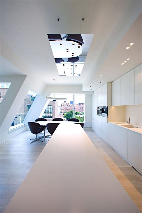 remodelled rooftop apartment   york idesignarch