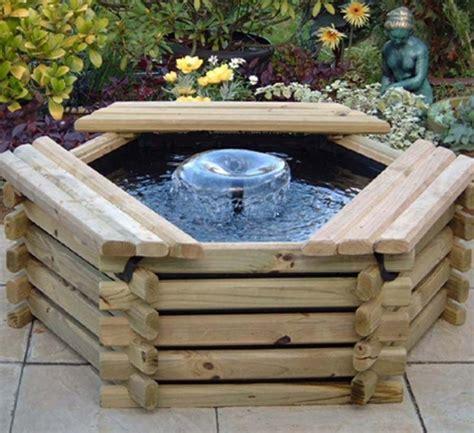 comment construire notre propre bassin de jardin en bois