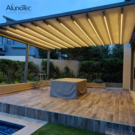 retractable awning retractable roof price  living