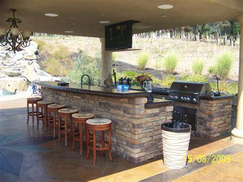 triyae backyard kitchen images various design