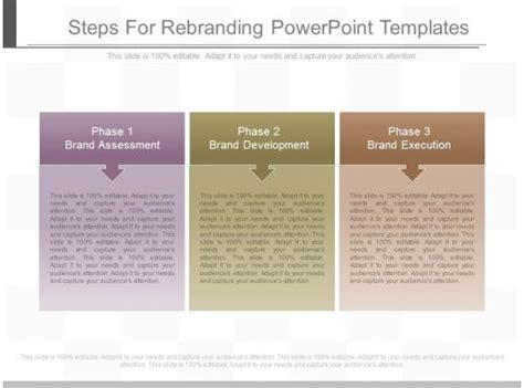 steps  rebranding powerpoint templates