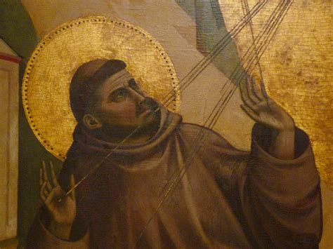 giotto st francis of assisi receiving the stigmata c 1295 1300 with detail of francis s
