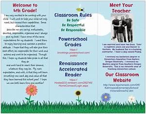 brochures classroom and the ocean on pinterest With teacher brochures