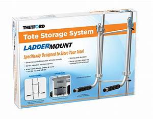 Tote Storage System Ladder Mount