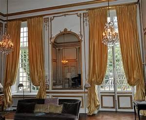 Tissus Pour Double Rideaux : rideaux t tes flamandes dans h tel particulier atelier secrea ~ Melissatoandfro.com Idées de Décoration