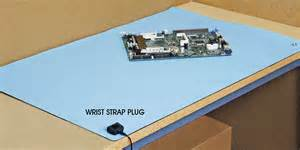 anti static table mat antistatic table mat in stock uline
