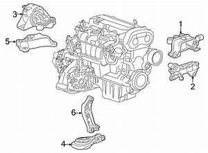 2015 Chevrolet Sonic Engine Mount