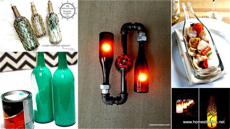 Fall Kitchen Decorating Ideas - 44 diy wine bottles crafts and ideas on how to cut glass