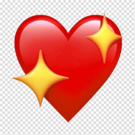 IPhone X Apple Color Emoji iOS Heart, Emoji transparent ...