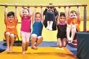 Little Kids Doing Gymnastics