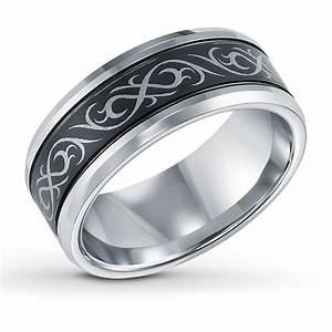 Mens Tungsten Wedding Brands Unique Engagement Ring