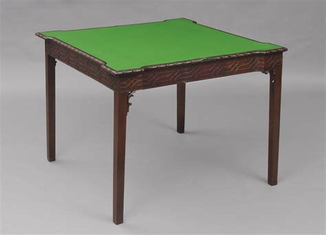 » Product » Chippendale Card Table