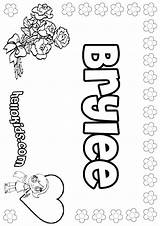 Coloring Brylee Pages Lauryn Name Hellokids Lauren Template Sheets Laura Print sketch template