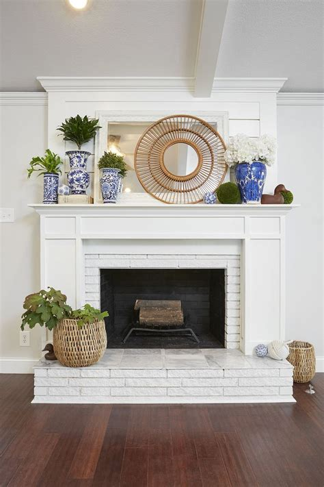 fireplace reface how to paint a brick fireplace and the best paint to use