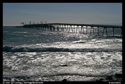 picturephoto pier  rincon island california usa