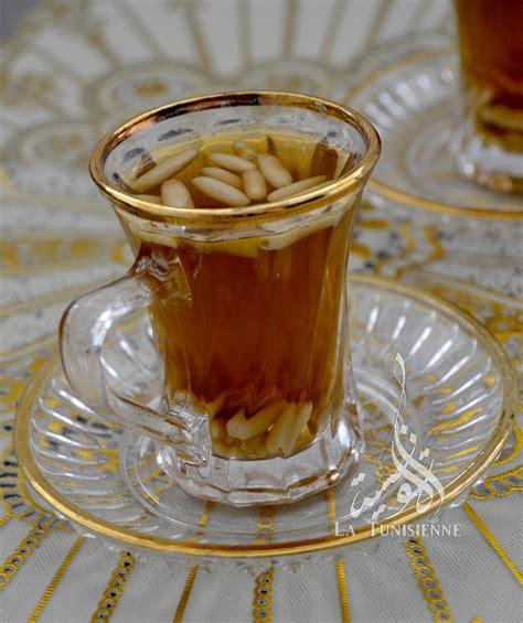recettes cuisine marocaine thé à la menthe et aux pignons