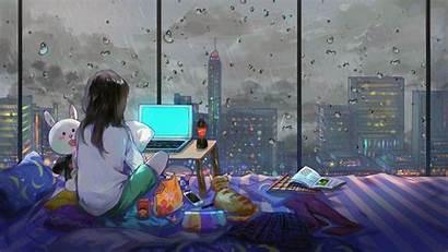 Fi Lo Lofi Anime Wallpapers Backgrounds Wallpaperaccess