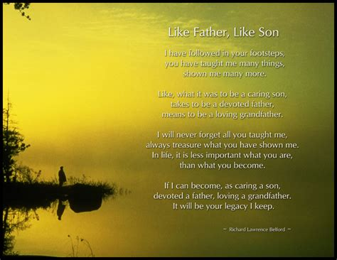 Father Poems From Son