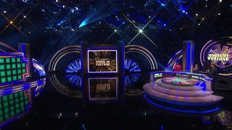 celebrity wheel  fortune broadcast set design gallery