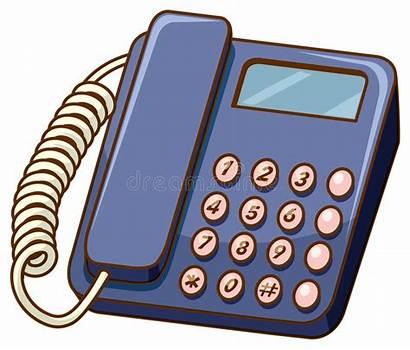 Telephone Ouderwetse Fashioned Telefoon Witte Achtergrond Cartoon