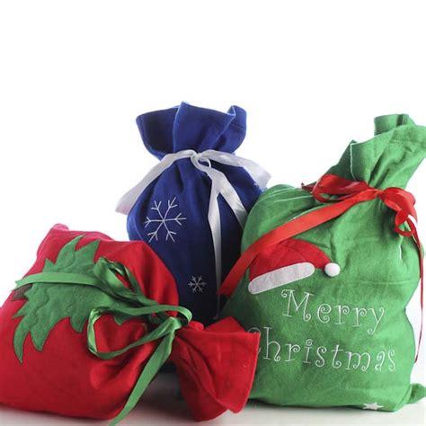 felt christmas gift santa bag gift packaging party