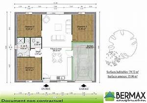 plan maison plain pied 120m2 3 chambres hz12 jornalagora With plan de maison 120m2 6 plan de maison individuelle plain pied