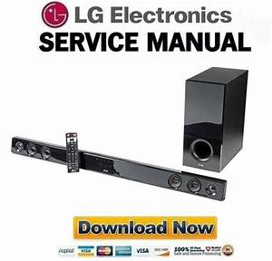 Lg Nb3530a Sound Bar Service Manual  U0026 Repair Guide