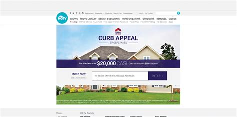 curb appeal sweepstakes winzily