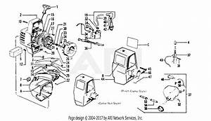 Poulan 5500 Gas Trimmer Parts Diagram For Starter  U0026 Shroud