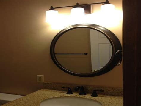 Rubbed Bronze Mirrors Bathroom by Rubbed Bronze Framed Mirror Inovation Decorations