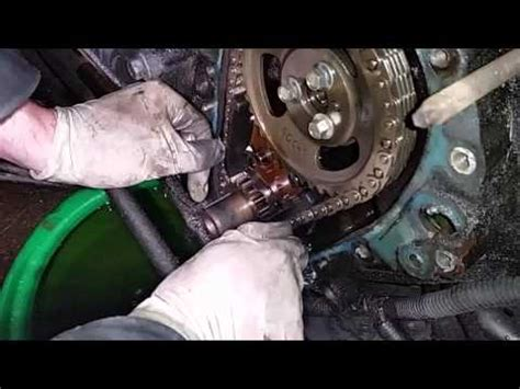 how to replace a timing chain fully detailed diy