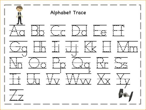 printable letters to trace 5 printable letter tracing western psa 27913